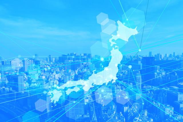 サイバーな日本地図