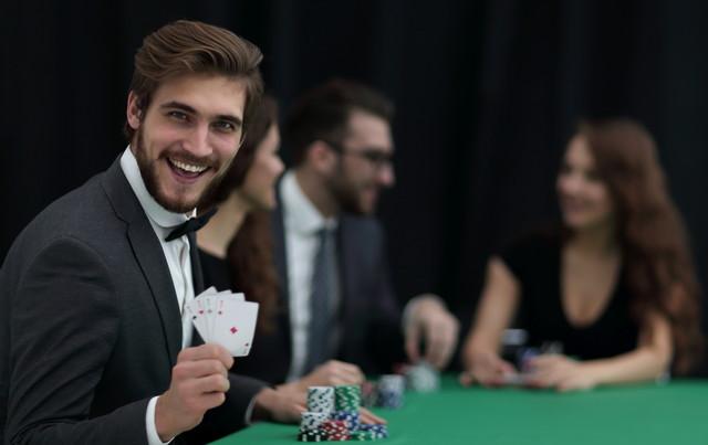 カジノと男性
