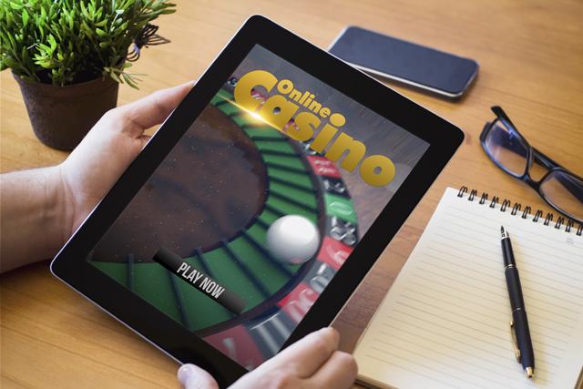 タブレットでオンラインカジノ