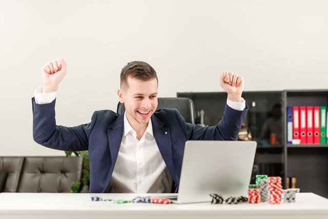 オンラインカジノで勝つイメージ