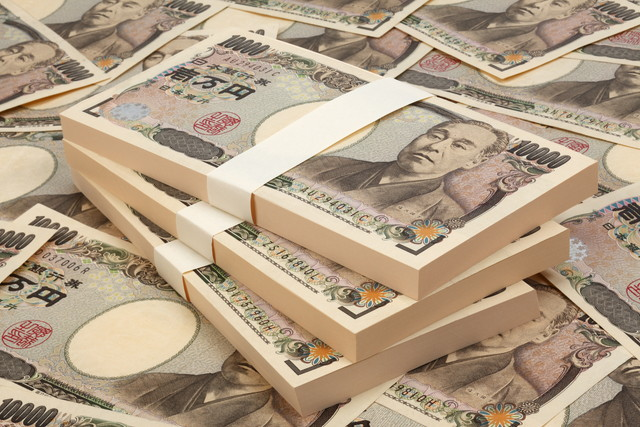 /一万円の札束