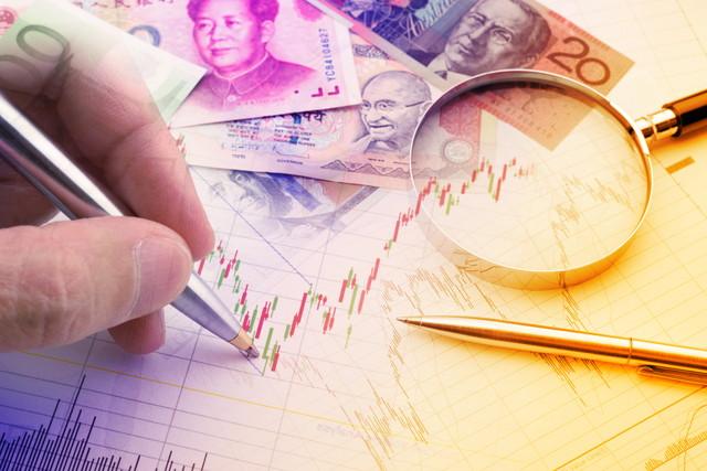 通貨取引トレンド分析
