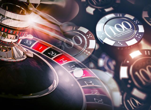 カジノルーレットゲームチップ