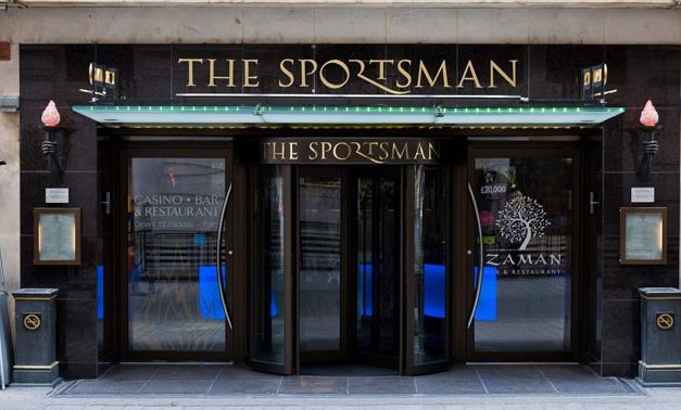 THE Sportsman Casino BAR