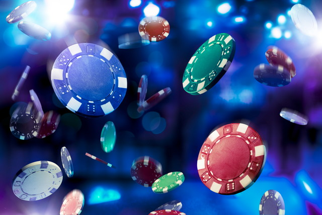 いろいろなカジノチップ