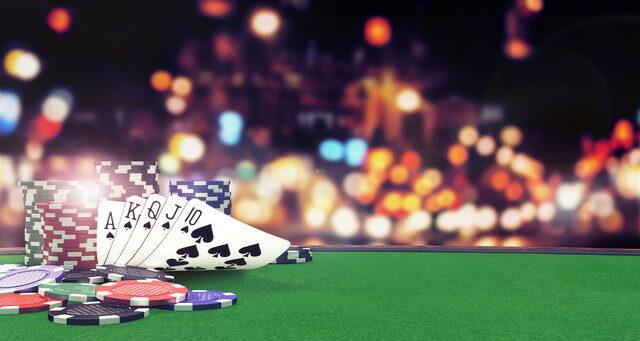 華やかなカジノ