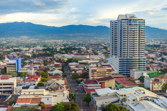 コスタリカの町並み
