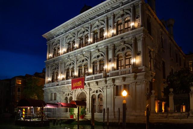 カジノ・ディ・ヴェネツィア、ヴェンドラミン・カレルジの外観