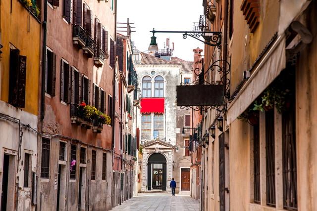 ベネチアの街並み