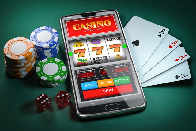 オンラインカジノのスマホのスロット