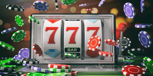 オンラインカジノのスロットとチップ