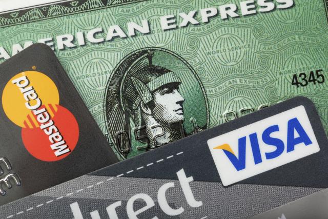 複数のクレジットカードの種類