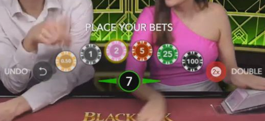 Blackjack Party-bets-coins