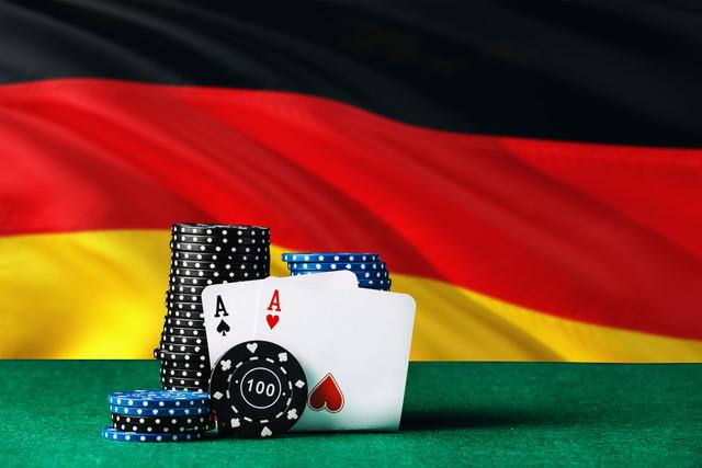 ドイツの国旗とカジノ